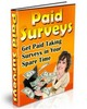 paid surveys, work from home