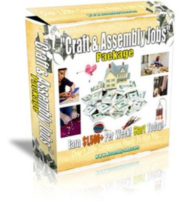 Product picture 180 Legitimate Assembly And Craft Home Business Solutions