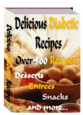Product picture 500 Delicious Diabetic Recepies